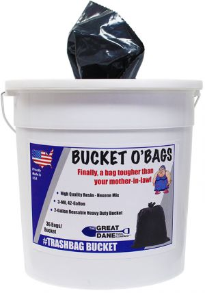42 Gal Bucket O' Bags (40/CT)