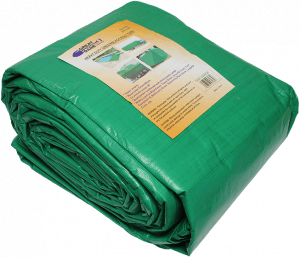 Green/Black Heavy Duty Tarps